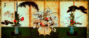 江戸時代の生け花