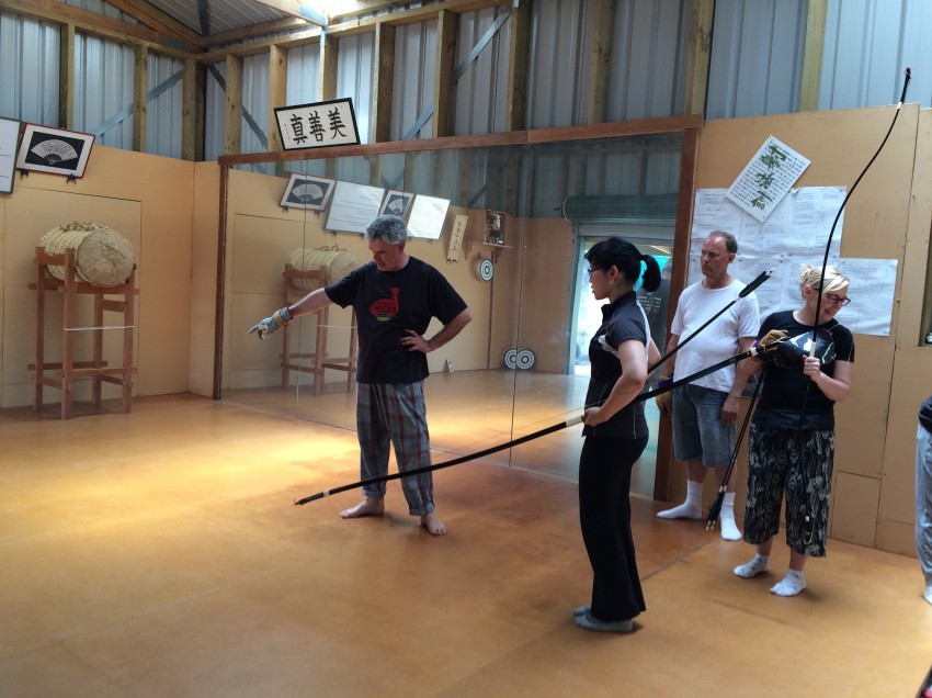 Chris Colman – Kyudo Instructor