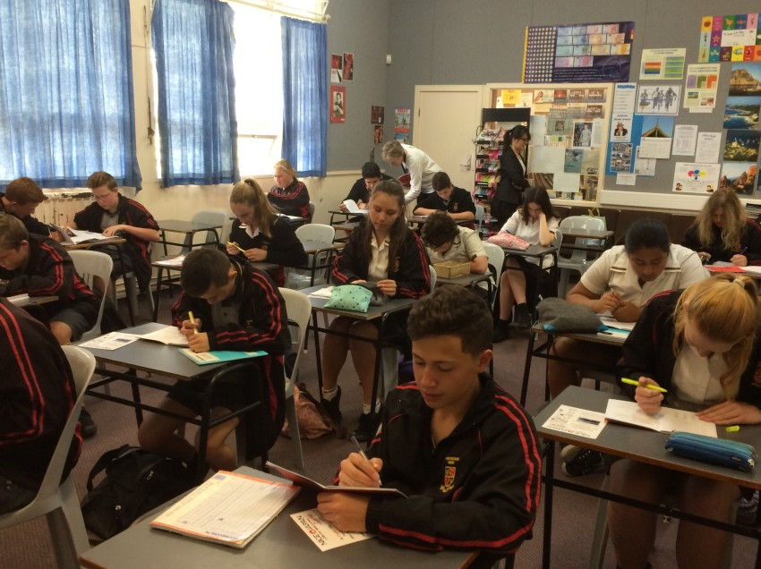 Year 9 Japanese, Pukekohe High School