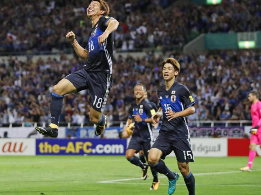 Japan Qualify for World Cup 2018