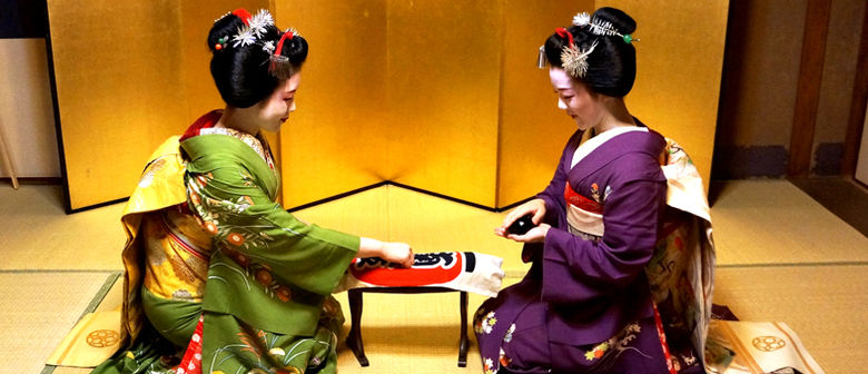 Maiko san (apprentice Geisha )are coming to NZ!