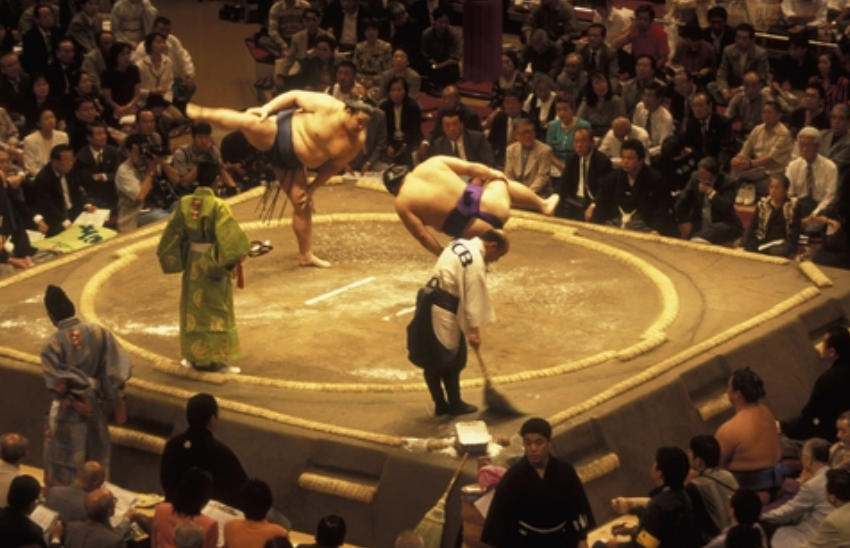 Japan: Sumo enchanted evening