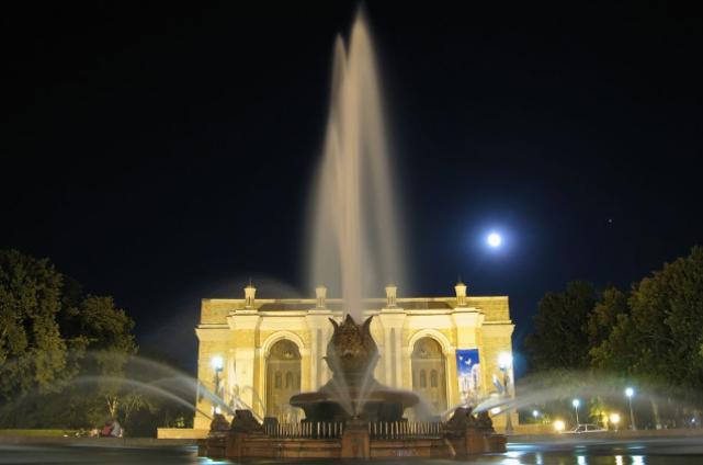 Navoi Theatre in Tashkent built by Japanese POW