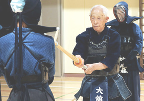Kamikaze pilot to kendo teacher