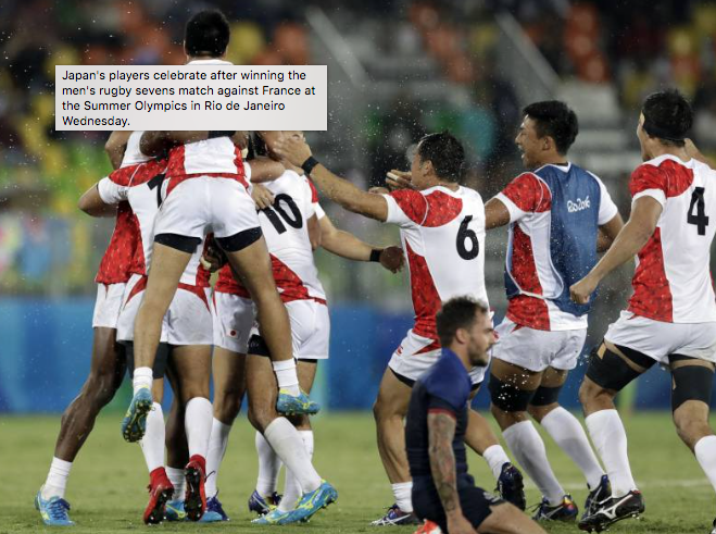 Japan's magnificent sevens