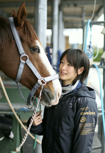 Nanako Fujita, 19: Budding female jockey in it for the long run