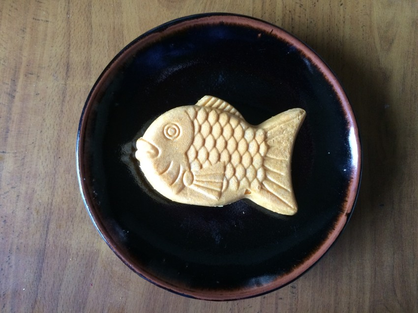 Taiyaki – it's hot!