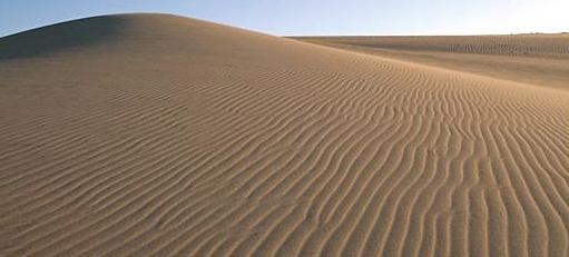 Sand Dunes in Tottori