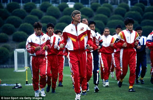 Arsene Wenger @ Grampus Eight