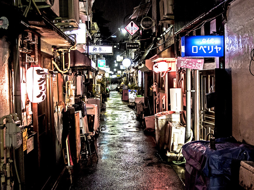 Welcome to Golden Gai