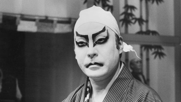 The dramatic make-up used by kabuki became part of the Ziggy Stardust look.