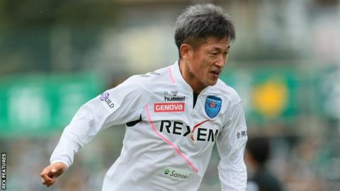 'King Kazu' signs deal to play into his 50's!