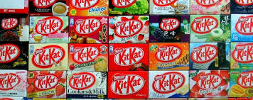 Japan loves Kit Kats!