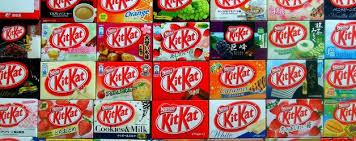 Japan loves Kit Kats!