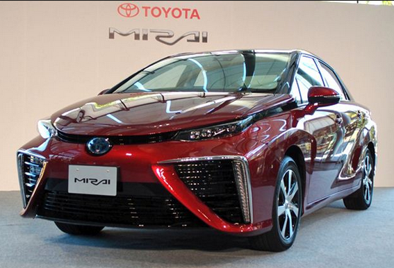 TOYOTA Future Car 'Mirai'