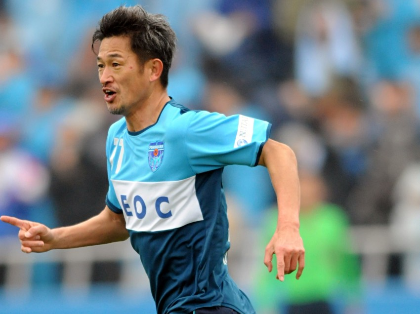 'King Kazu': Japan Legend signs new deal at 48