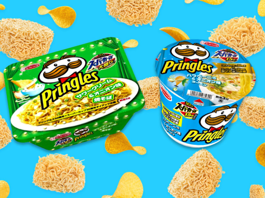 Super Cup Ramen x Pringles: A Heavenly Collab