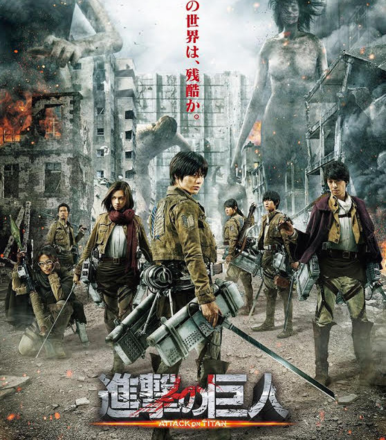 Attack on Titan! – The live action movie review!