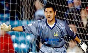 Yoshikatsu Kawaguchi – A Portsmouth FC cult hero.