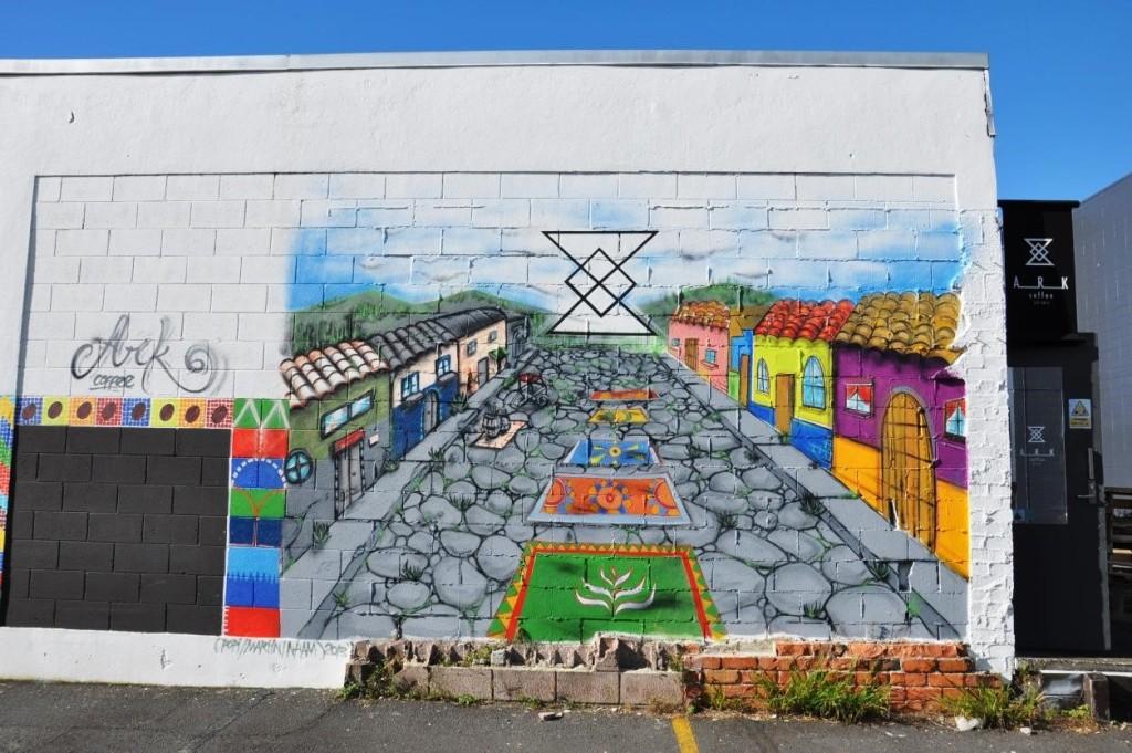 Wall Art created by her friend, an artist