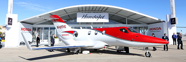 HONDAJET got Federal Aviation Administration Certification!