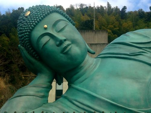 The Biggest and Luckiest Buddha in the World? – Fukuoka Nanzoin Temple