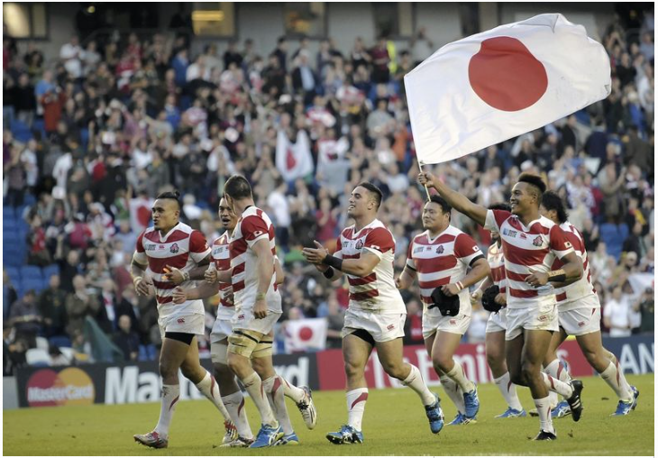 Japan shocking win picked as top 'moment' in RWC history