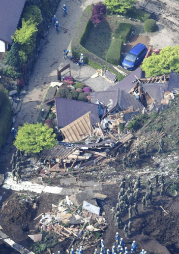 Kumamoto quake death toll rises to 46