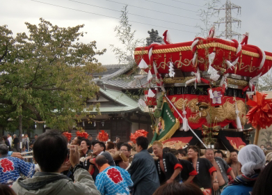 Taiko – Autumn festival in my hometown