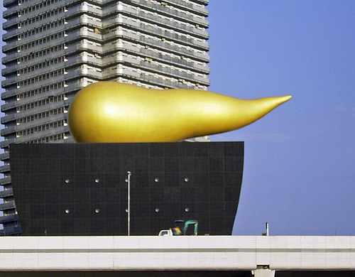 "Asahi's ""Golden Poo"""