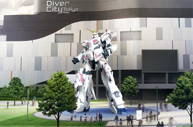 Gundam Takes Over Tokyo Again