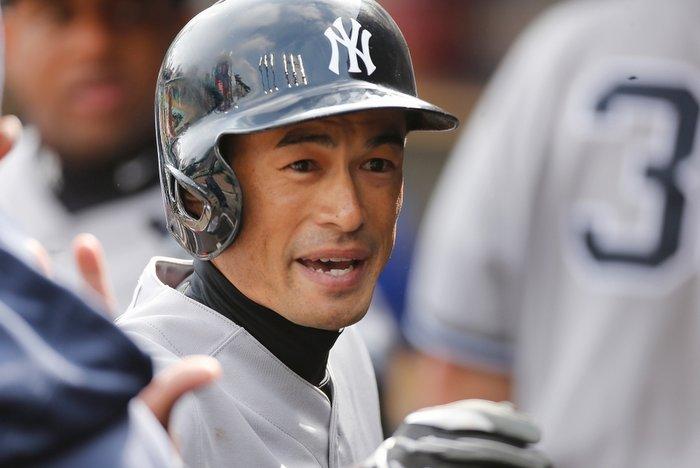 Baseball player Ichiro