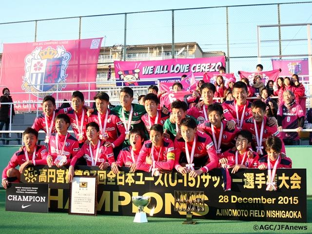 Cerezo Osaka Win First Major Trophy