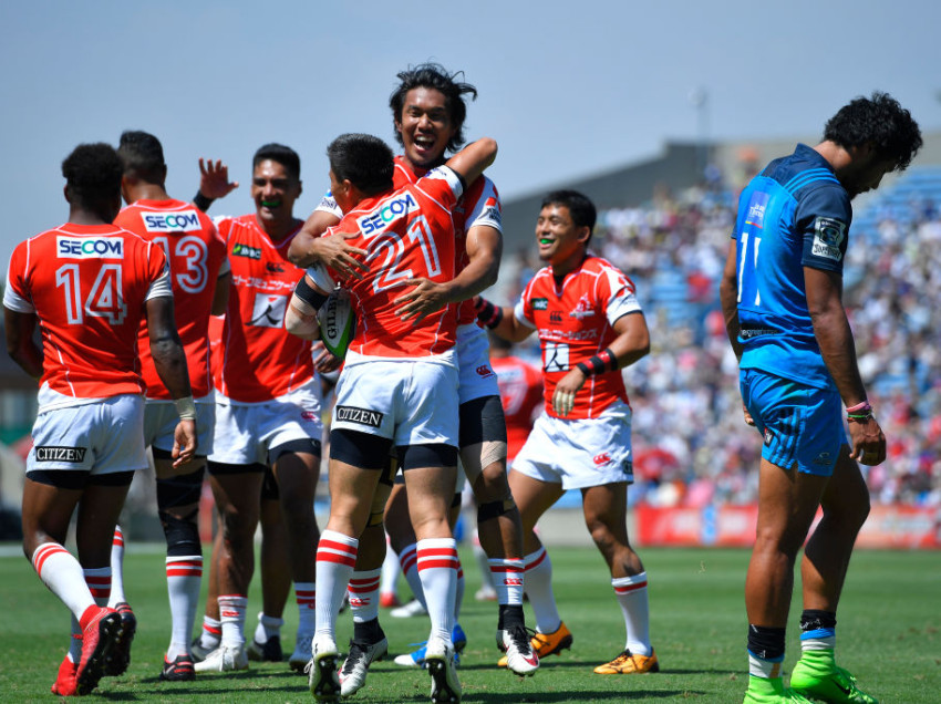 Sunwolves comeback to smash Auckland Blues 48-21